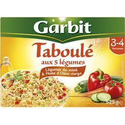 Garbit Garbit Taboulé aux 5 légumes du soleil la boite de 525 g
