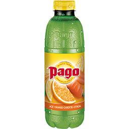 Pago Pago Boisson Ace orange carotte citron la bouteille de 0,75 l