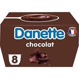 Danone Danone Danette - Crème dessert chocolat les 8 pots de 125 g