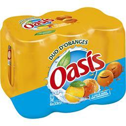 Oasis Oasis Boisson orange les 6 canettes de 33 cl