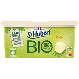 St Hubert St Hubert BIO - Margarine 100% Végétal doux BIO la barquette de 490 g