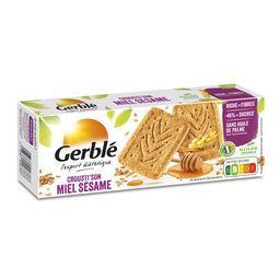Gerblé Gerblé Biscuits Crousti'Son miel sésame les 4 sachets de 5 - 200 g