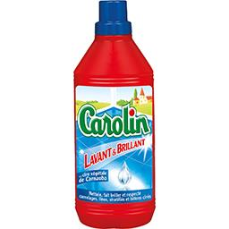 Carolin Carolin Nettoyant sol lavant & brillant à la cire de carnauba le flacon de 1 l