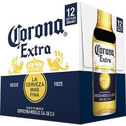 Corona Extra Corona Extra - Bière du Mexique les 12 bouteilles de 35,5 cl