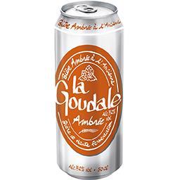 La Goudale La goudale Bière ambrée à l'ancienne la canette de 50cl