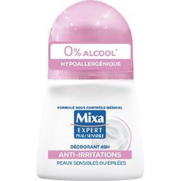 Mixa Mixa Expert Peau Sensible - Anti-transpirant anti-irritations 0% alcool 48 h le roll-on de 50 ml
