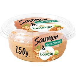 Boursin Boursin Tartinable apéritif saumon aneth & citron vert le pot de 150 g