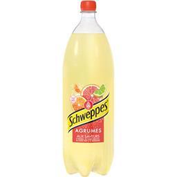 Schweppes Schweppes Soda Agrumes aux saveurs de 4 agrumes la bouteille de 2 l