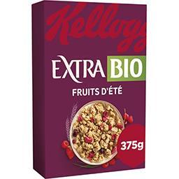 Kellogg's Kellogg's Extra BIO - Céréales Fruits d'été la boîte de 375g