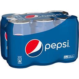 Pepsi Pepsi Soda au cola les 6 canettes de 33 cl