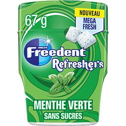 Freedent Freedent Refreshers - Chewing-gum menthe verte sans sucres la boite de 67 g