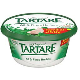 Tartare Tartare Fromage L'Original ail & fines herbes la boite de 250 g