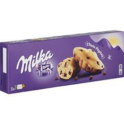 Milka Milka Gâteaux Choco Pépites le paquet de 5 - 140 g