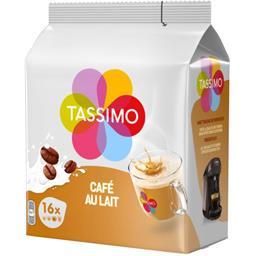 Tassimo Tassimo Dosette de café au lait le paquet de 16 dosettes - 184 g