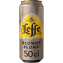 Leffe Leffe Bière blonde la canette de 50cl