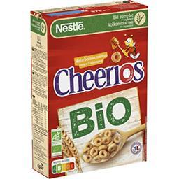 Nestlé Nestlé Cheerios Céréales petit déjeuner BIO au miel la boite de 375g