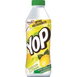 Yoplait Yoplait Yop - Yaourt à boire parfum citron la bouteille de 850 g - Offre Découverte
