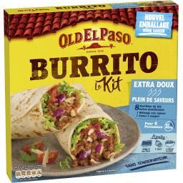Old El Paso Old El Paso Kit pour Burritos extra doux le kit de 491 g