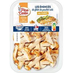 Père Dodu Père Dodu Emincés de filets de poulet au curry la barquette de 200 g