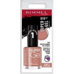 Rimmel Rimmel London Super Gel - Vernis gel 019 Drama Pink le vernis de 12 ml