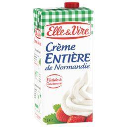 Elle & Vire Elle & Vire Crème entière de Normandie la brique de 1 l