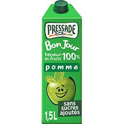 Pressade Pressade BonJour - Jus de pomme la brique de 1,5 L