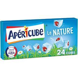 Apéricube Apéricube Fromage fondu apéritif nature la boite de 24 cubes - 125 g