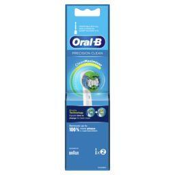 Oral B Oral B Brossette precision clean Le lot de 2 brossettes