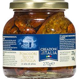 Creazioni d'italia Creazioni d'Italia Tomates séchées à l'huile d'olive le pot de 140 g net égoutté