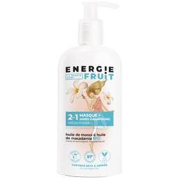 Energie Fruit Energie Fruit Masque + après-shampooing monoï et huile de macadamia le flacon de 300 ml