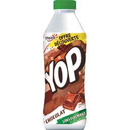 Yoplait Yoplait Yop - Dessert lacté chocolat la bouteille de 850 g - Offre Découverte