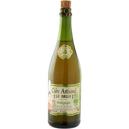 Le Brun Le Brun Cidre artisanal Le Brun BIO la bouteille de 75 cl