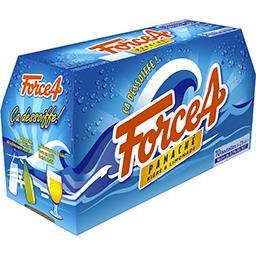 Force 4 Force 4 Panaché bière & limonade les 10 bouteilles de 25 cl