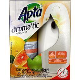 Diffuseur automatique et recharge Aroma'tic agrumes
