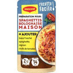 Recette facile spaghettis bolognaise maison
