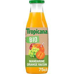 Tropicana Tropicana Pur jus mandarine orange raisin BIO la bouteille de 750 ml