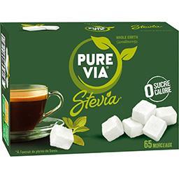 Pure Via Pure Via Edulcorant stevia en morceaux la boite de 65 morceaux - 130 g