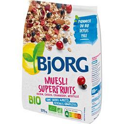 Bjorg Bjorg Muesli Superfruits BIO le paquet de 375 g