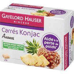 Carrés Konjac ananas Gayelord Hauser – Intermarché