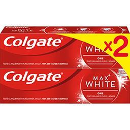 Colgate Colgate Max White - Dentifrice One le lot de 2 tubes de 75 ml
