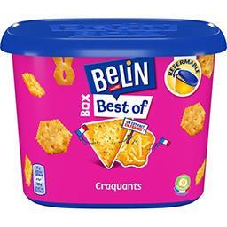 Belin Belin Assortiments biscuits crackers Box Best of la boite de 205 g