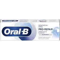 Oral B Oral B Dentifrice pro-repair gencives et émail blancheur Le tube de 75ml