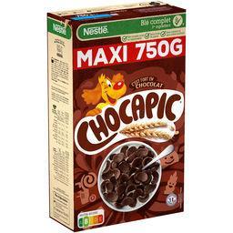 Nestlé Nestlé Chocapic Céréales petit déjeuner au chocolat la boite de 750g