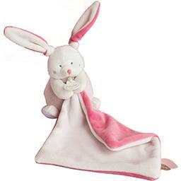 Baby Baby Nat' Pantin avec doudou lapin rose le doudou