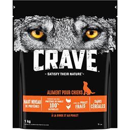 Crave Crave Croquettes à la dinde et au poulet pour chiens le sac de 1 kg