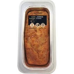 Guyader Tout frais, Tout prêt ! Cake jambon olives la barquette de 260 g