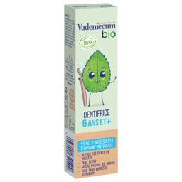 Vademecum Vademecum BIO - Dentifrice 6 ans et + menthe BIO le tube de 50 ml