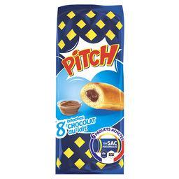 Pasquier Brioche Pasquier Pitch - Brioches goût chocolat au lait les 8 brioches de 38,75 g