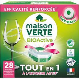 Maison Verte Maison Verte Tablettes  lave vaisselle   bioactive La boite de 28 tablettes
