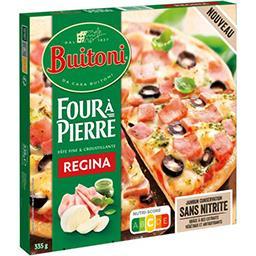 Buitoni Buitoni Four à pierre - pizza régina le paquet de 335g